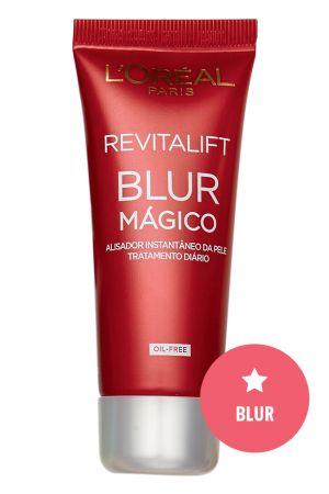 Blur Mágico Revitalift, L'Oréal Paris, R$ 40* A nova geração de primers disfarça imperfeições feito um verdadeiro filtro do Instagram.