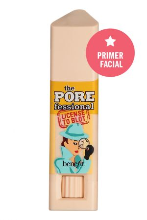 Stick The Porefessional, Benefit, R$ 99*. Aplique nas regiões com poros evidentes antes da base e ao longo do dia para manter a pele im-pe-cá-vel.