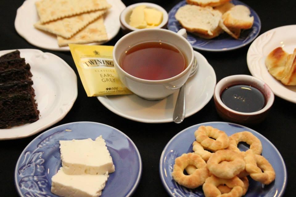 Acompanhamento para chá ou chocolate
